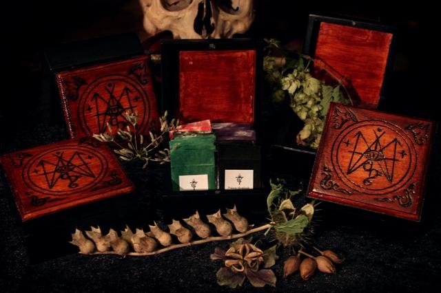 Teufelskunst Wooden Seed Boxes, November 2013