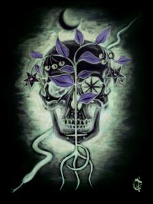 'S. nigrum', Soulpainting #1, art print