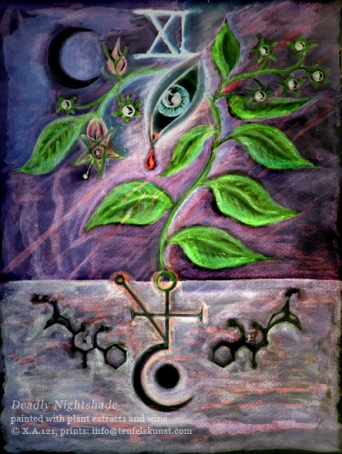 Deadly Nightshade 'soulpainting'